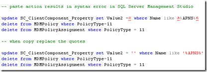 Copy SQL Query