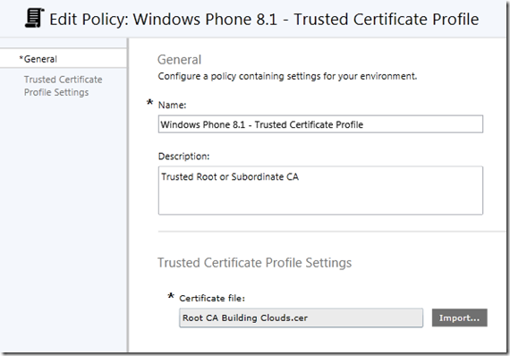Part 3 deploy certificates to mobile devices using microsoft when you are finished click save policy youll be prompted to deploy the created trusted ca certificate profile policy yelopaper