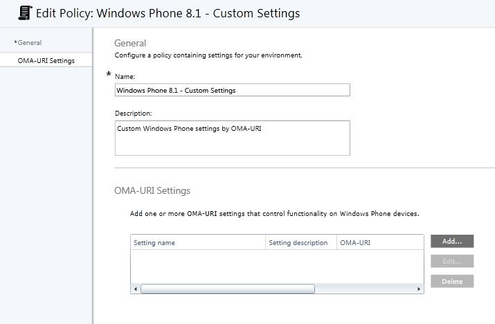 Block un-enrollment Windows Phone devices by Microsoft