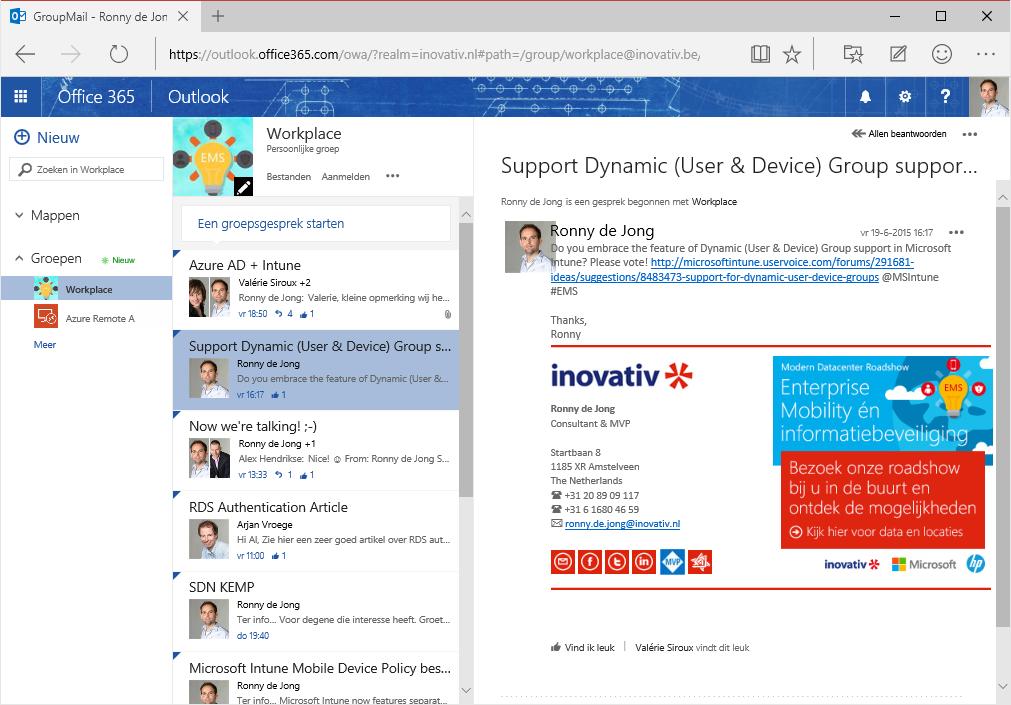 How Azure AD Premium & Office 365 improves Collaboration