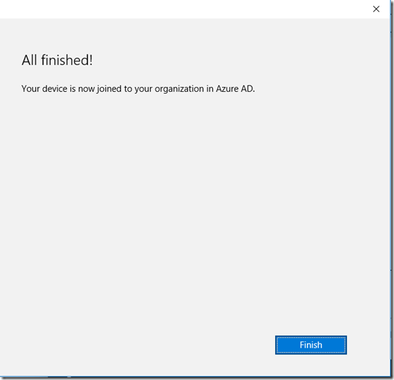 Azure AD Intune Enrollment Integration Join 7