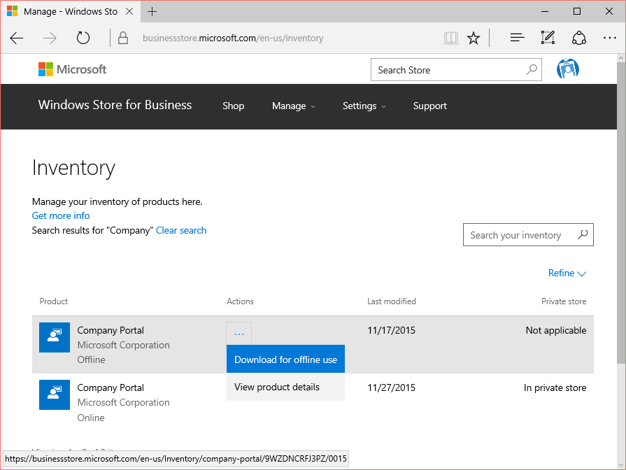 Getting started with Windows Store for Business – Modern