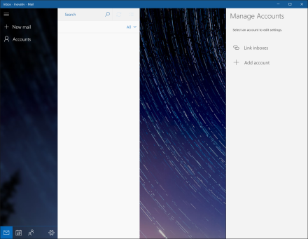 Windows 10 Calendar & Mail app