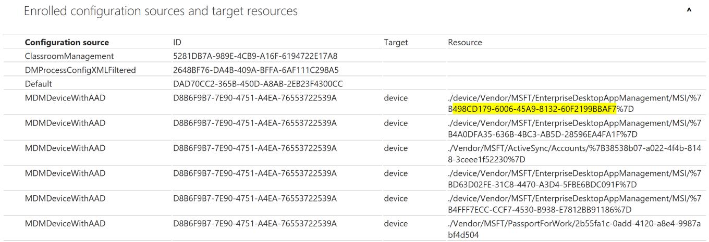 MDM Configuration Sources