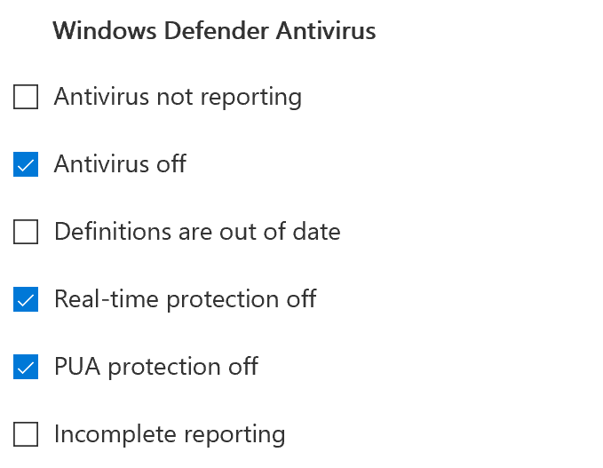 Part 1 improve your endpoint security w windows defender atp the score of windows defender antivirus is measured against the improvement areas shown left including cloud based protection make sure windows defender ccuart Gallery